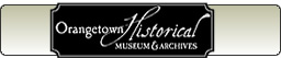 Orangetown Historical Museum and Archives